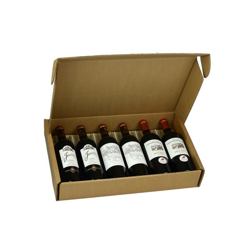 La production de la maison coffret de dégustation de vin de Cahors