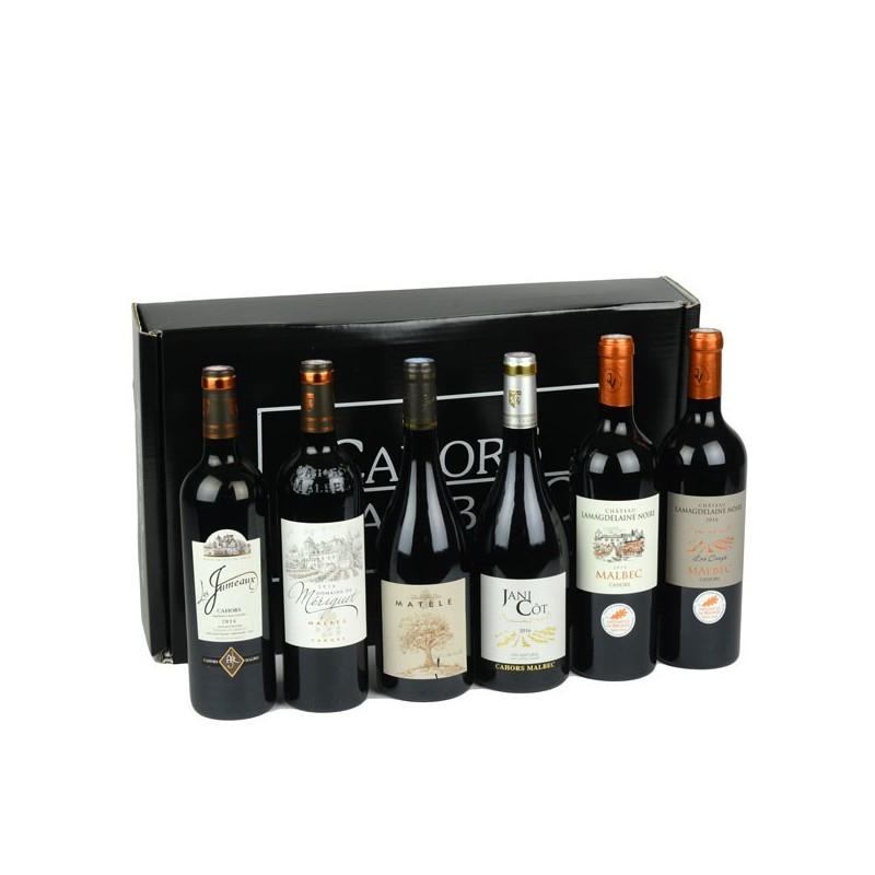 Les vins de la maison - coffret dégustation de 6 bouteilles de vin de Cahors
