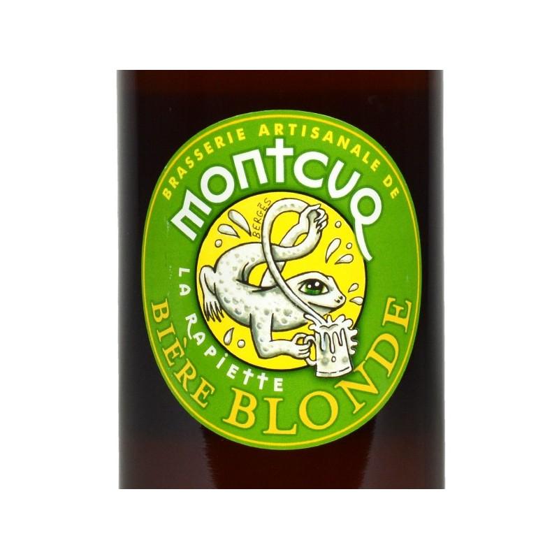 Bières de Montcuq - La Rapiette Blonde - 75 cl