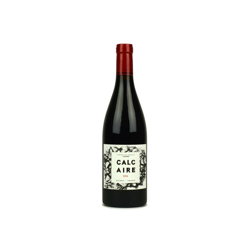 Château les Croisille - Calcaire 2016 - vin malbec bio
