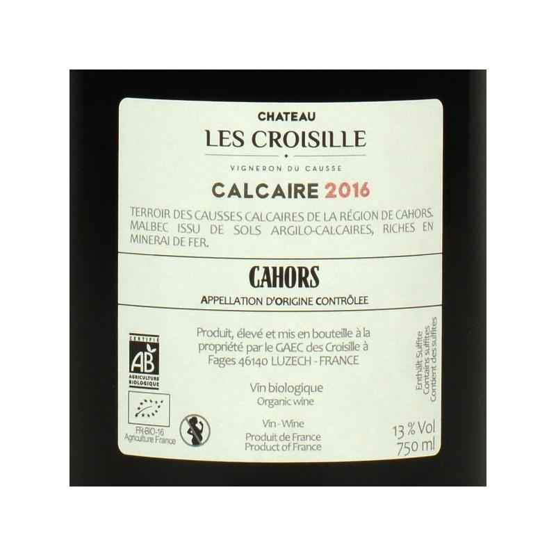 Château les Croisille - Calcaire 2016