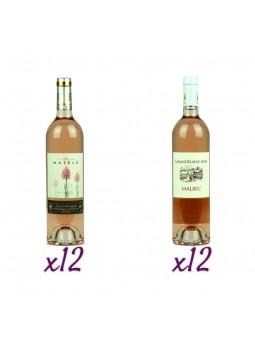 Offre Vins Rosés IGP Côtes du Lot -...