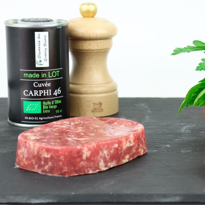 Steak haché d'agneau