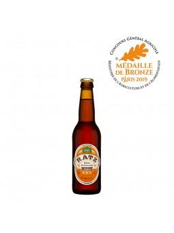 Bière RATZ Ambrée - 33 cl