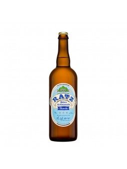 Bière RATZ Blanche - 75 cl