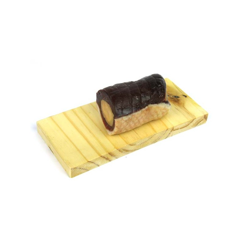 1/2 Magret séché longue durée au foie gras nature - 200 gr