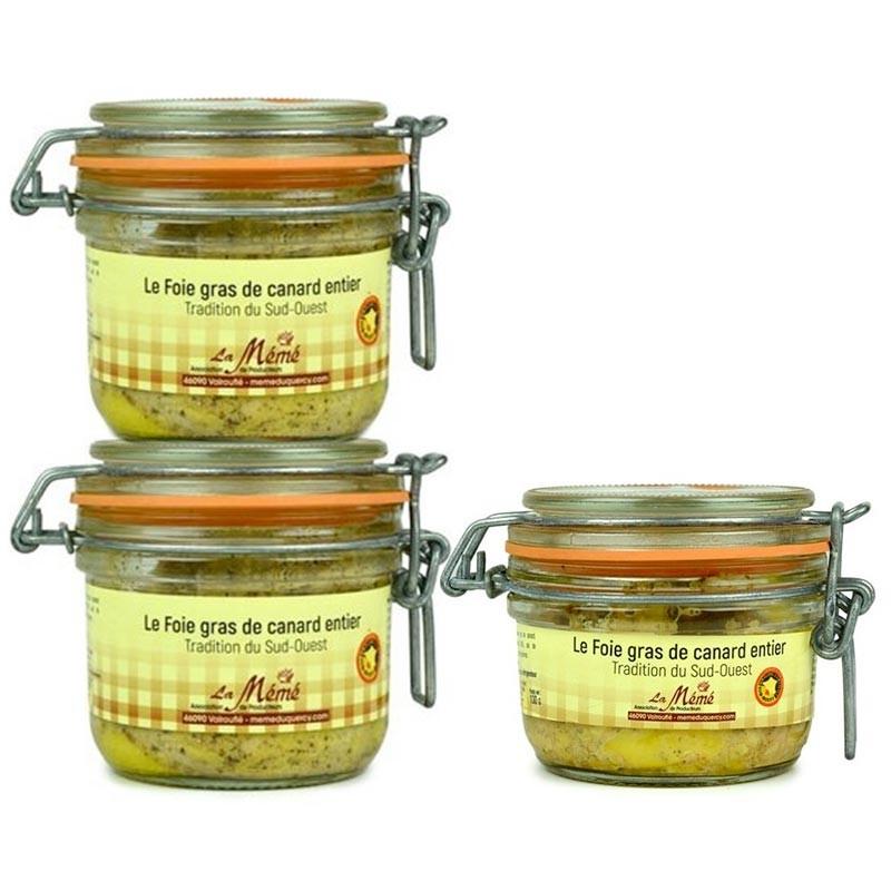 foie gras entier igp sud-ouest bocal en promotion
