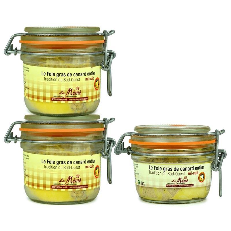foie gras mi-cuit en promotion