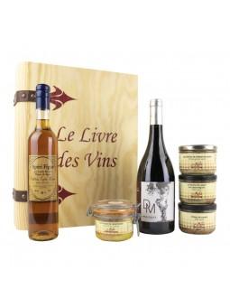 Magie des Fêtes coffret de dégustation de produits du sud ouest vin pâtés et foie gras