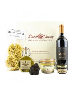 coffret truffe noire tuber mélanosporum cadeau gourmet
