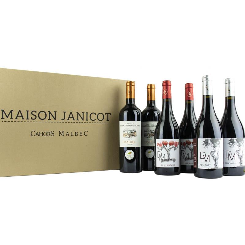 La production de la maison - 3 x 2 bouteilles de vin de Cahors malbec AOC