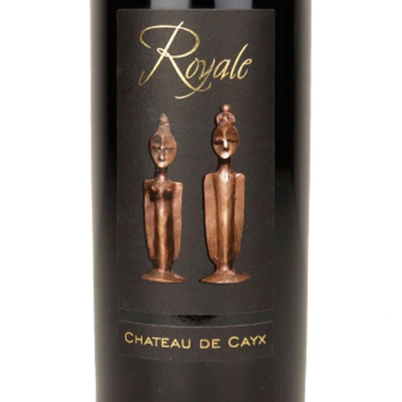 étiquette du vin de cahors Château de Cayx La Royale 2011