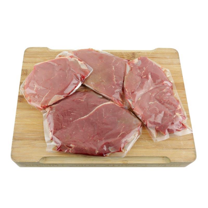 bavettes et steak bœuf angus