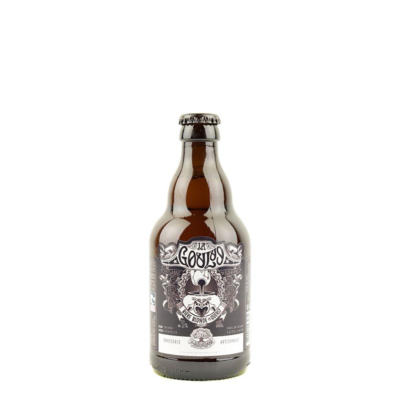La Goulue 33 cl bière blonde de la brasserie la bouriane