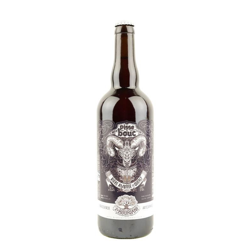 bière ambrée pisse de bouc la bouriane en 75 cl