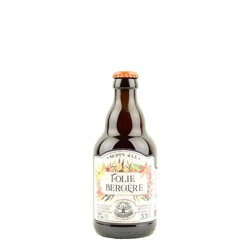 Folie Bergère est une bière de seigle brasserie la bouriane