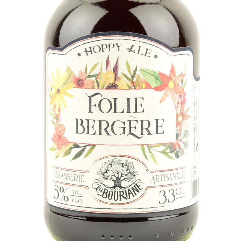 étiquette bière de seigle Folie Bergère