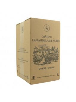 BIB de 5 litres de vin de Cahors AOC Château Lamagdelaine Noire Malbec