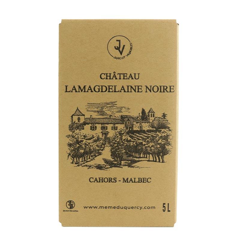 BIB vin de Cahors AOC Château Lamagdelaine 5 litres