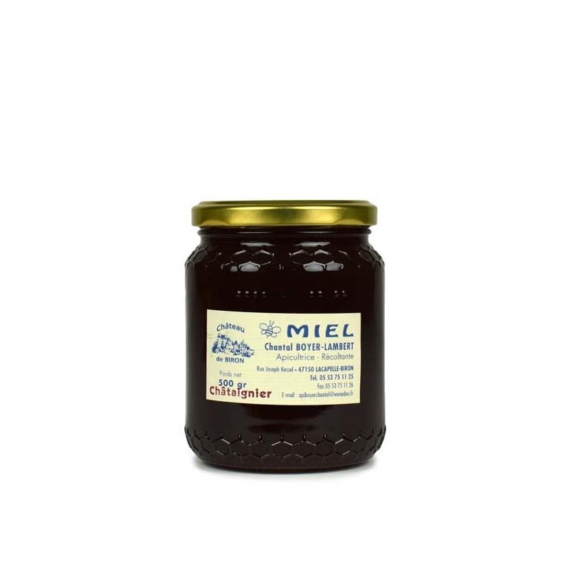 Miel de châtaignier - 500 gr