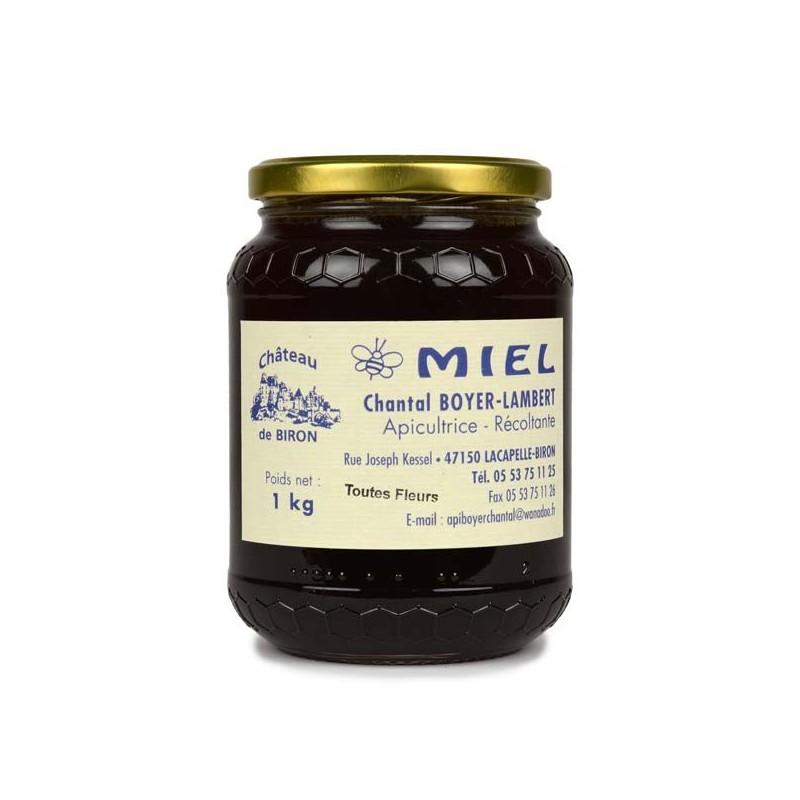 Miel toutes fleurs - 1 kg