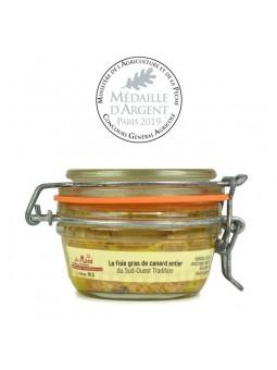 Foie gras de canard entier conserve Médaillé - 90 gr