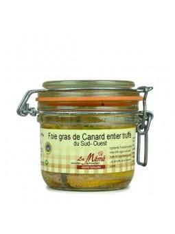 Foie gras de canard entier truffé conserve - 180 gr IGP du Sud Ouest