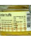 Foie gras de canard entier truffé conserve - 180 gr