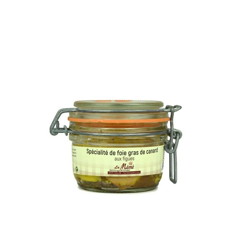 Foie gras de canard entier aux figues - 120 gr