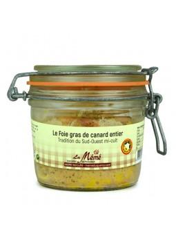 Foie gras de canard IGP du Sud Ouest entier mi-cuit Médaillé
