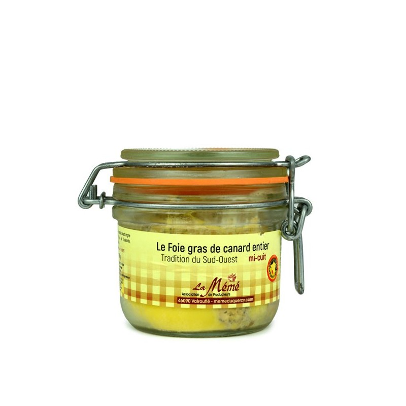 Foie gras de canard du Sud Ouest entier mi-cuit Médaillé