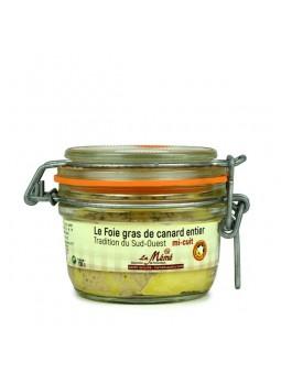 Foie gras de canard entier mi-cuit - foie gras du sud ouest