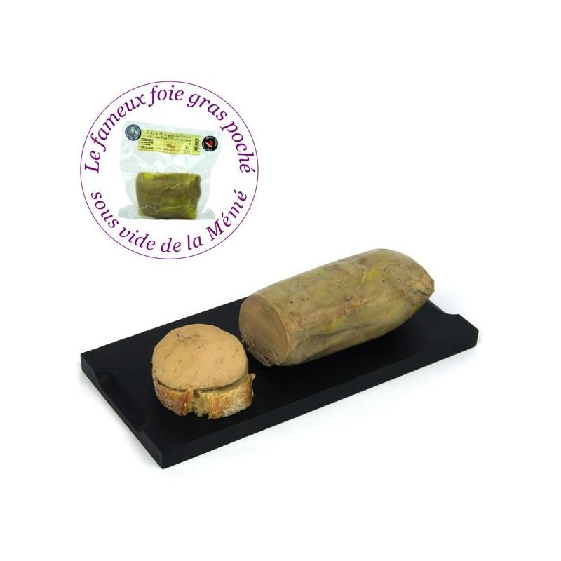 Lobe de foie gras de canard IGP Sud Ouest entier mi-cuit poché