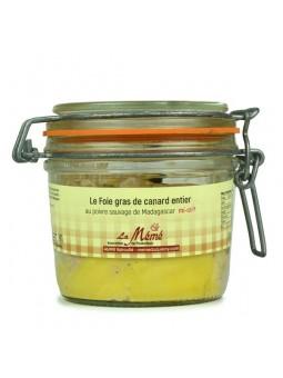 Foie gras de canard du sud ouest entier mi-cuit au poivre Sauvage