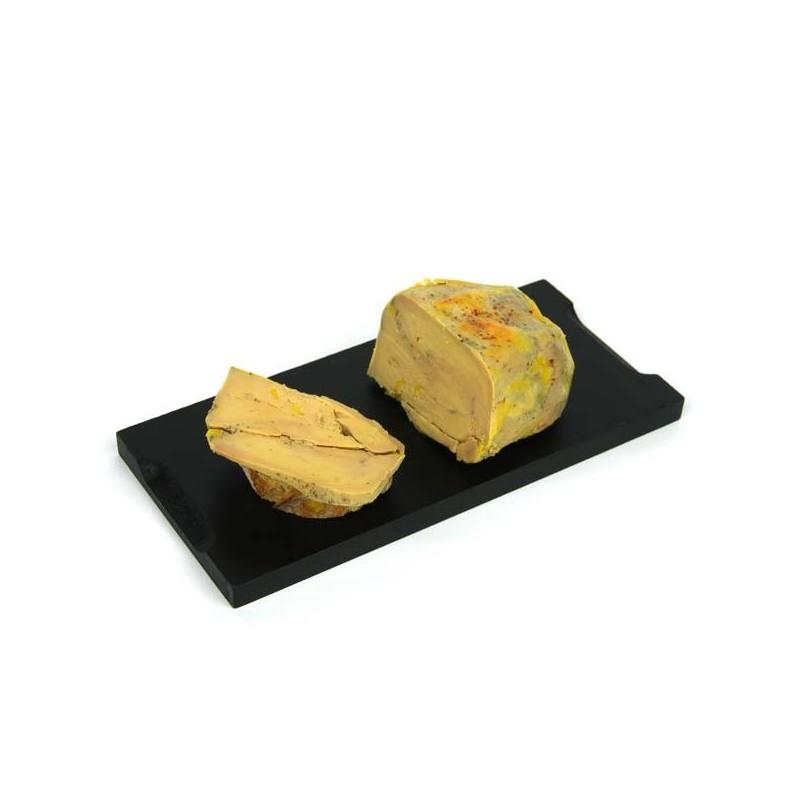 1/2 lobe de foie gras de canard entier mi-cuit au piment d'Espelette Mémé du Quercy