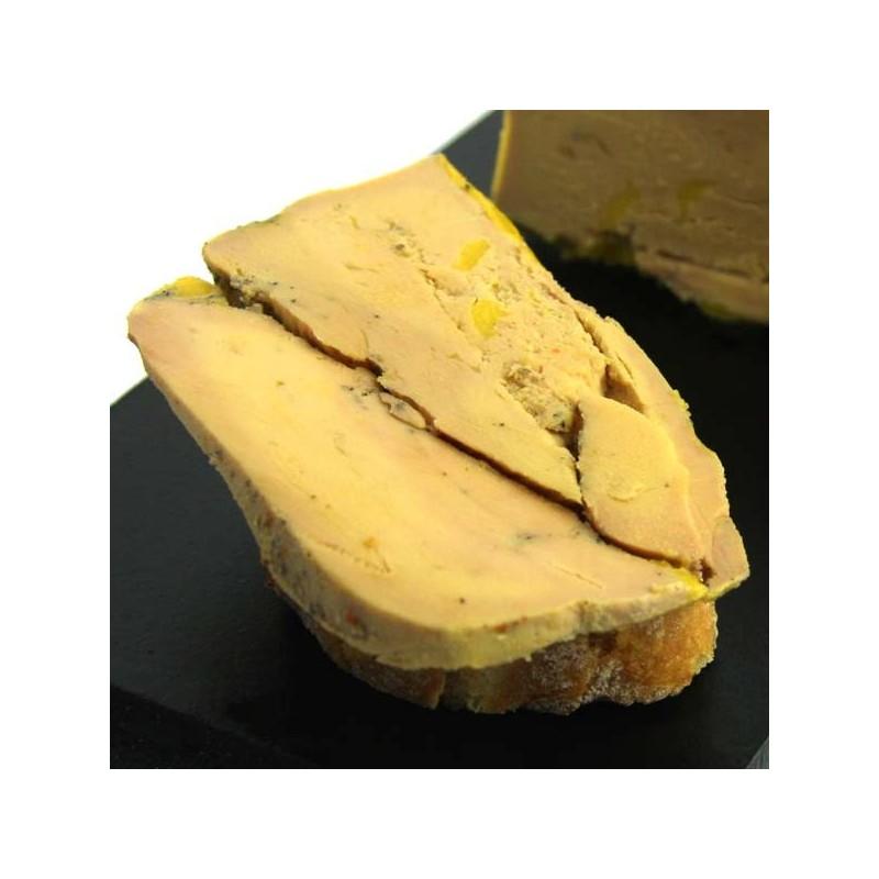 foie gras de canard entier mi-cuit au piment d'Espelette - 190 gr
