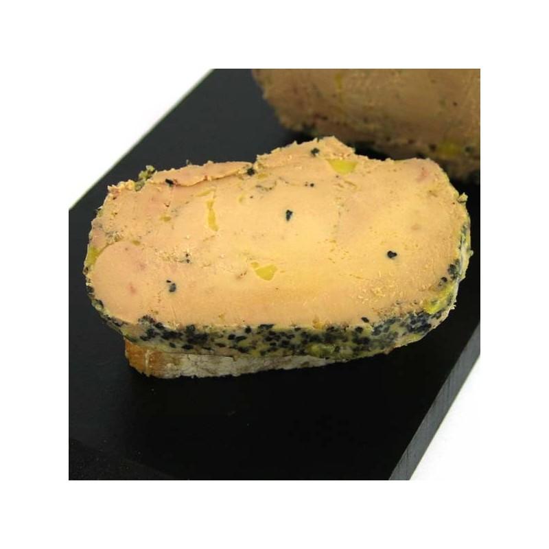 foie gras de canard entier mi-cuit au Poivre - 190 gr
