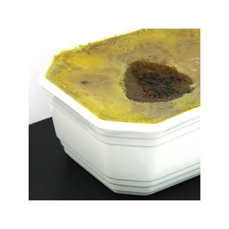 Terrine de foie gras de canard entier mi-cuit aux figues