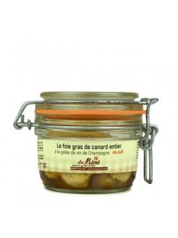 Foie gras de canard entier mi-cuit au Champagne - 120 gr