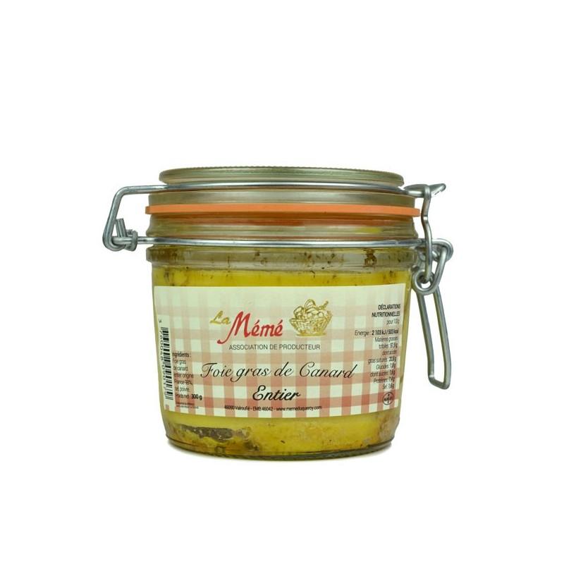 Foie gras de canard entier Mémé du Quercy