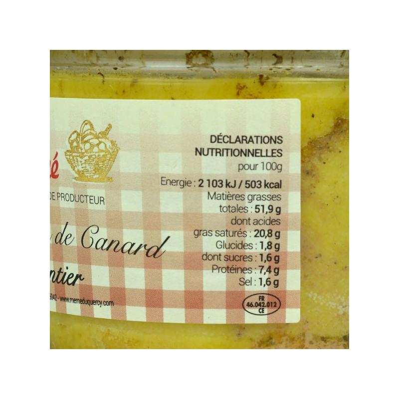 Foie gras de canard entier - 130 gr