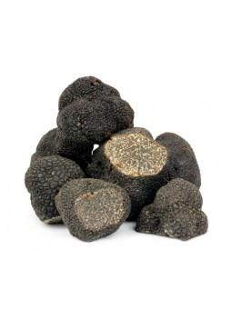 Truffes noire fraîches du Périgord du marché de Lalbenque