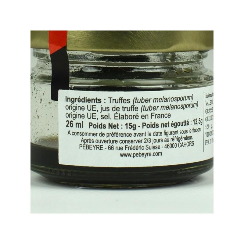 Truffe noire pelures - 12.50 gr