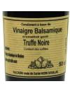 Vinaigre Balsamique aromatisé truffe noire - 50 cl
