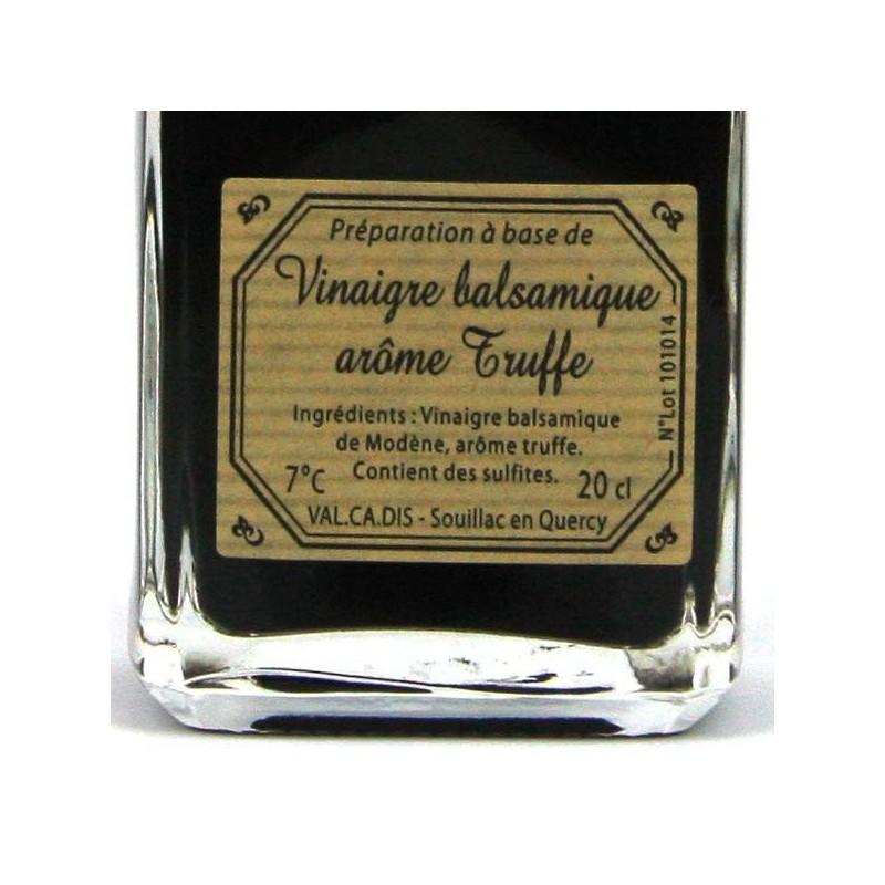 Vinaigre Balsamique aromatisé truffe noire - 20 cl