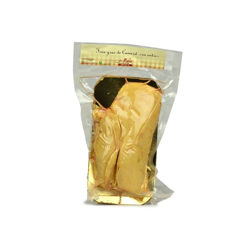 Lobe cru de foie gras de canard entier - 390 à 430 gr