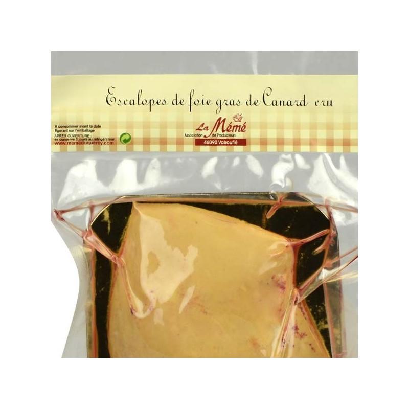 Escalopes de foie gras entier cru - 200 gr