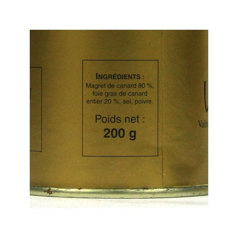Magret Fourré au Foie Gras de Canard Entier - 200 gr