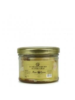Cailles Farcies au foie gras IGP du sud ouest