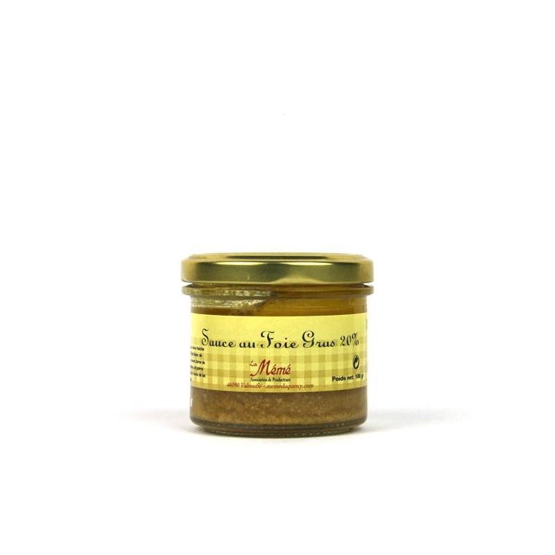 Sauce au Foie Gras Mémé du Quercy